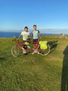 Lands End to John O'Groats by tandem